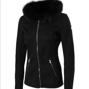 SPYDER Fur Collar Core Sweater